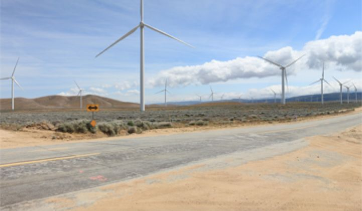 The Biggest US Wind-Solar Hybrid Project
