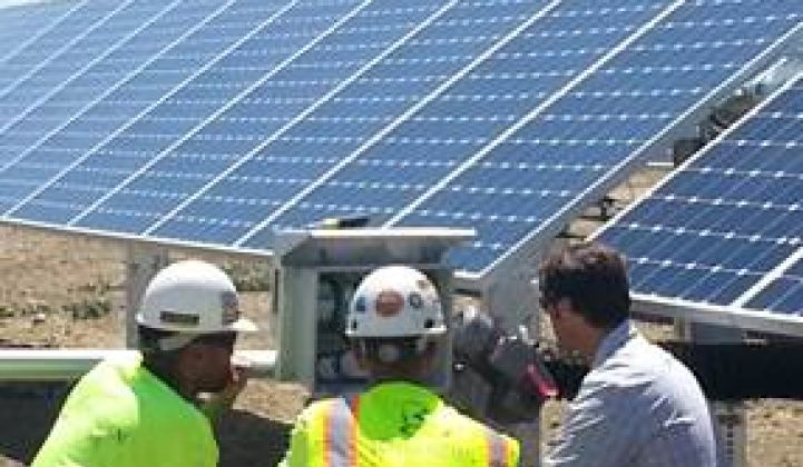 Antelope Valley Update: SunPower Builds, SunEdison Greets, Recurrent Makes a Move