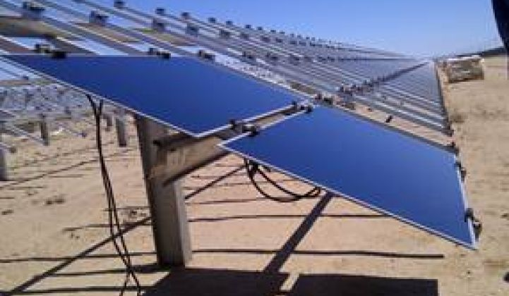$100,000 Vandalism at the First Solar/Exelon Antelope Valley Solar Ranch One
