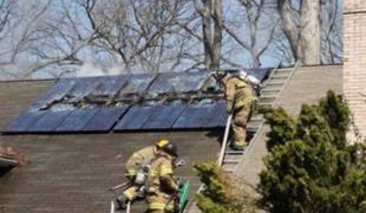 Putting Out the Solar-Panel Fire Threat