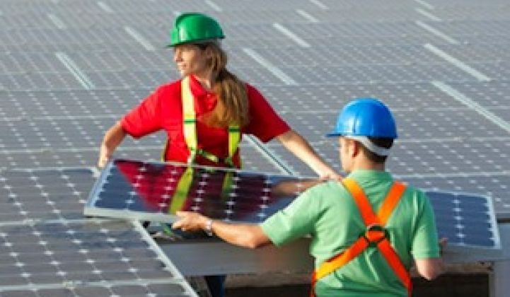 Up to 110,000 New Green Jobs Created in 2012