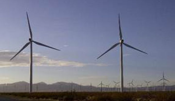 Record 4,196 Megawatts of Wind on California's Grid April 7