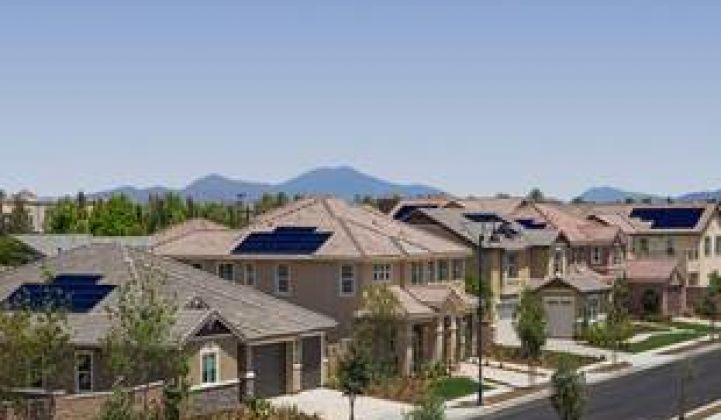 SunPower, SolarCity, the CSI and Builders Driving New Solar Home Growth Surge