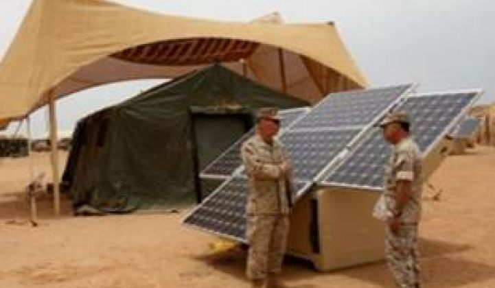 Army, Navy and Air Force on Track to Reach 3 GW of Solar by 2025