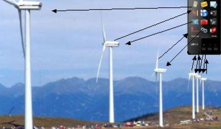 Can You Run a Wind Farm From a Cell Phone?