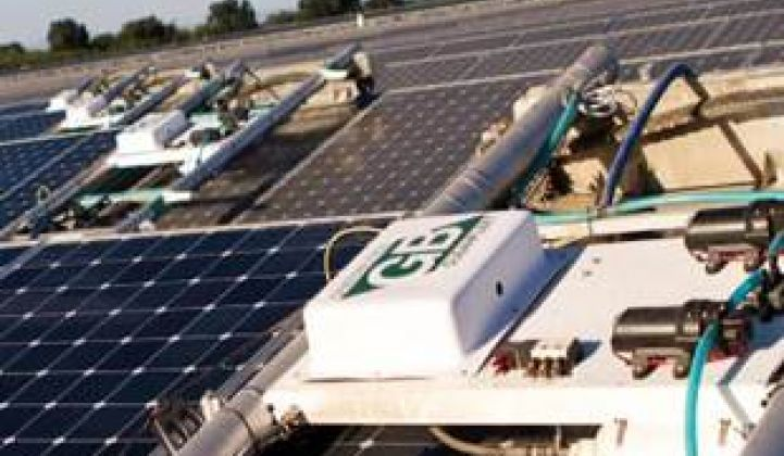 SunPower Cleans Up Solar With Acquisition of Greenbotics
