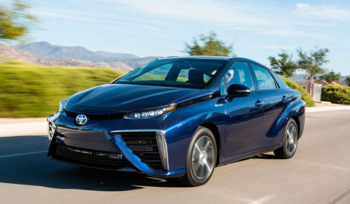 Toyota is driving down costs on the Mirai fuel cell system, which the company hopes will spur greater adoption.