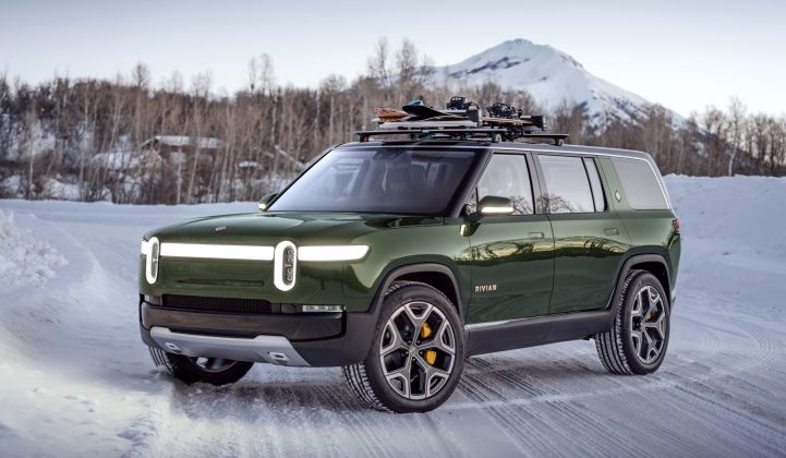 Rivian wants to sell EVs that work just as well for off-road adventuring. (Credit: Rivian)