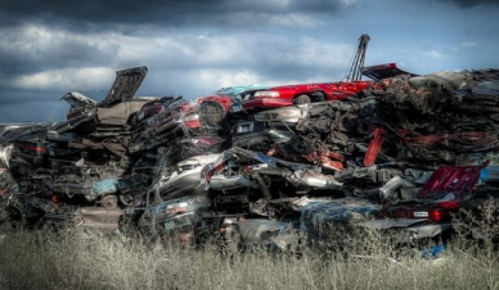 Cash-for-Clunkers: Too Much Cash for Cutting Emissions
