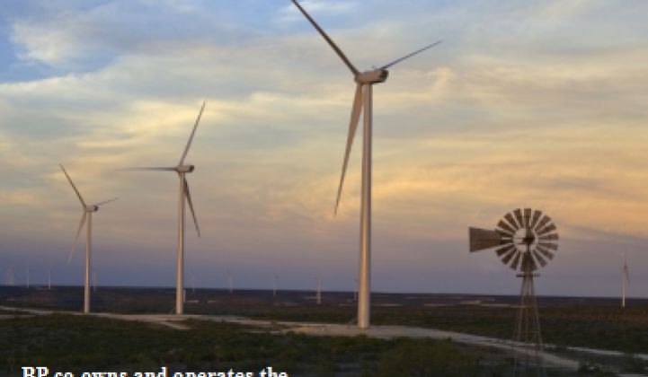 BP Wind Energy: Undiscouraged and Still Building Wind Farms