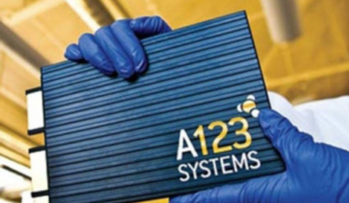 A123 Systems Sees Shipment Shrink, But Tomorrow Will Be Better, Really