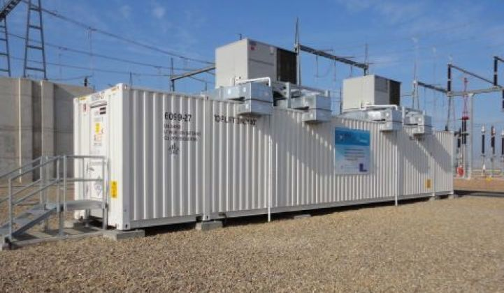 A123's Path Back to Grid-Scale Battery Business
