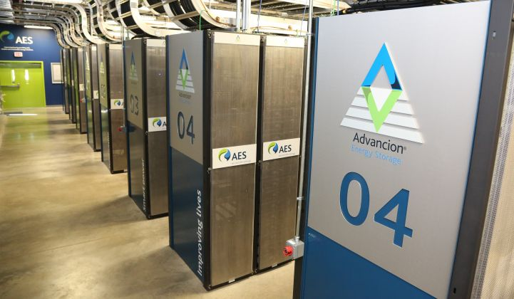 AES and Siemens Partner to Create New Energy Storage Powerhouse