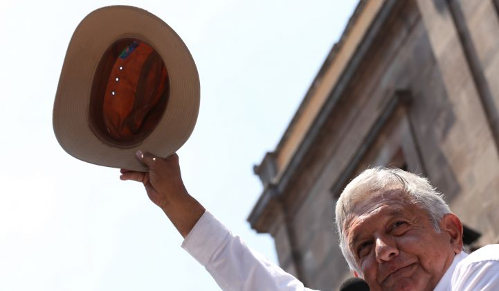 President Andrés Manuel López Obrador has shown a mistrust of private energy developers.