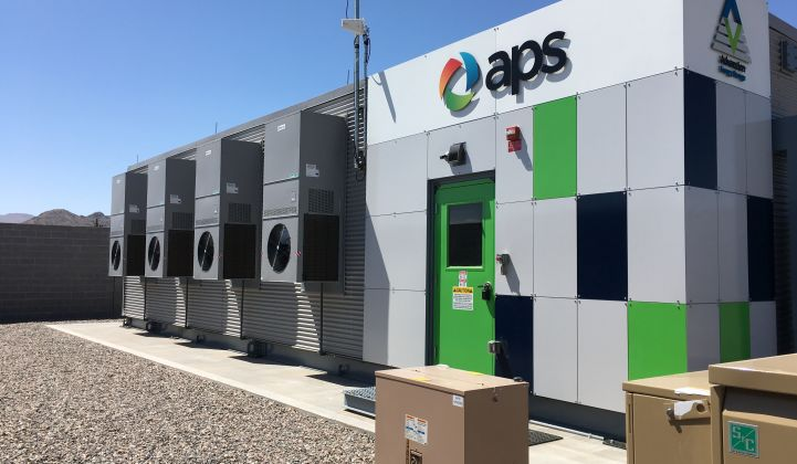 Arizona Public Service Is Back on the Grid-Scale Battery Scene