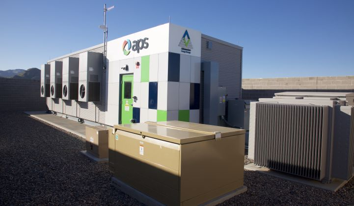 Arizona utility APS has grounded its energy storage operations while the investigation continues.