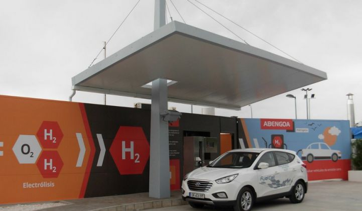 Abengoa Shows Off Its Hydrogen Capabilities in Spain
