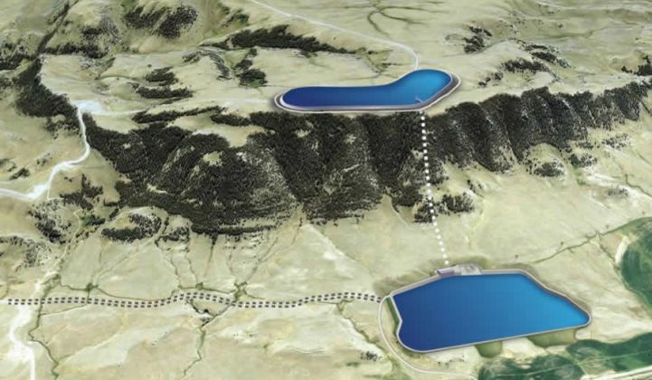 Permits are in place for the proposed 400-megawatt/3,400-megawatt-hour facility. (Credit: Absaroka)