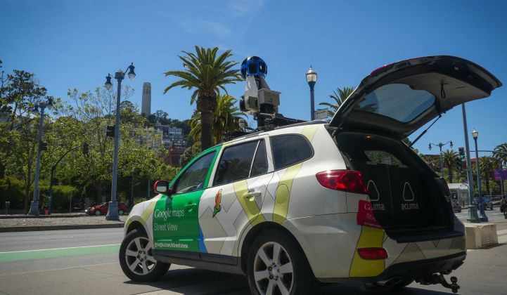 Tricked-Out Google Cars Are Tracking Air Pollution