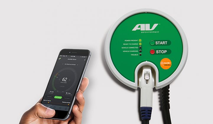 AeroVironment Picks EMotorWerks as Smart EV Charging Platform Provider