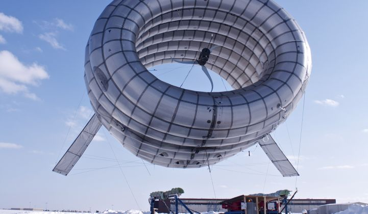 High Altitude Wind Demo From Altaeros (With Video)
