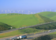 The Altamont Pass wind farm in California. Many of the state's prime sites have been taken.