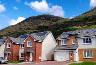 Scotland has proven that tighter carbon regulations are not an obstacle to homebuilding. (Credit: Forster Group)