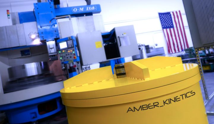 Amber Kinetics: Turning Flywheels Into Multi-Hour Energy Storage Assets