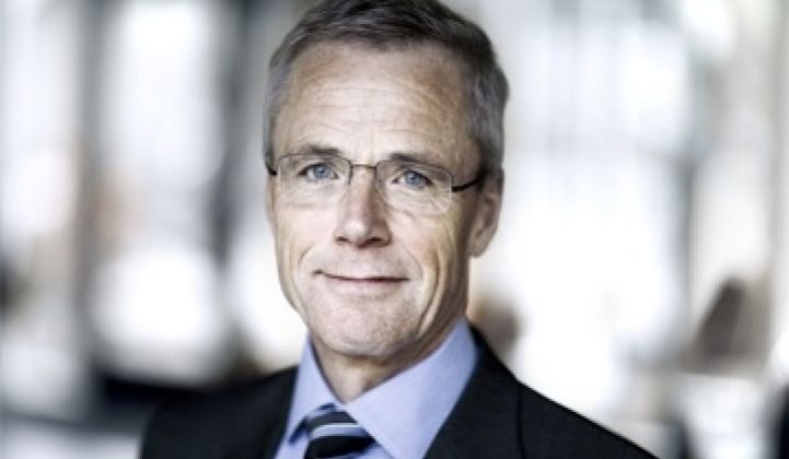 DONG Energy CEO Anders Eldrup Talks Up Denmark as Leader in Green Energy