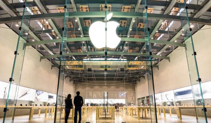 Apple Tackles Supply-Chain Emissions With 2GW Clean Energy Initiative in China