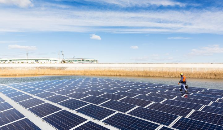 Land-constrained Japan has been an early leader in the emerging floating solar market.