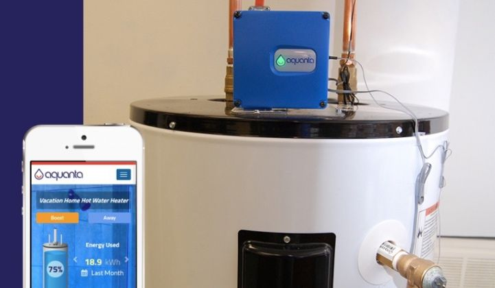 Aquanta Wants to Be the Nest of Smart Water Heaters