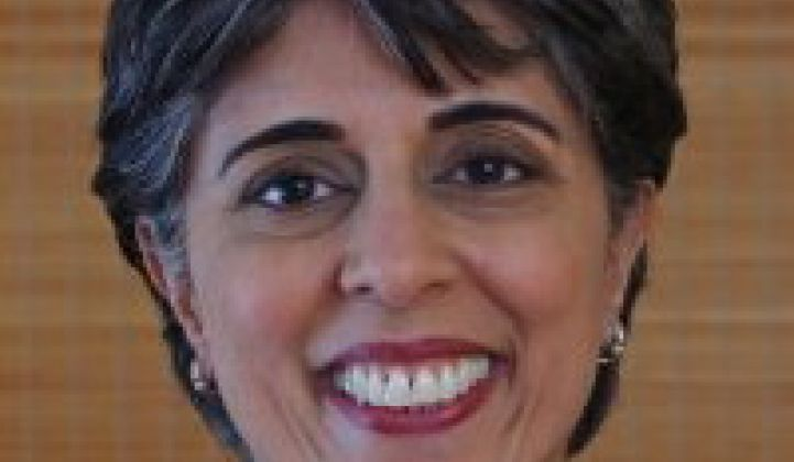 New DARPA Chief, Former Cleantech VC Arati Prabhakar