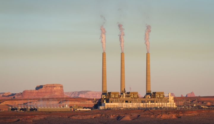 The Navajo Generating Station provides the majority of the Central Arizona Project's power.