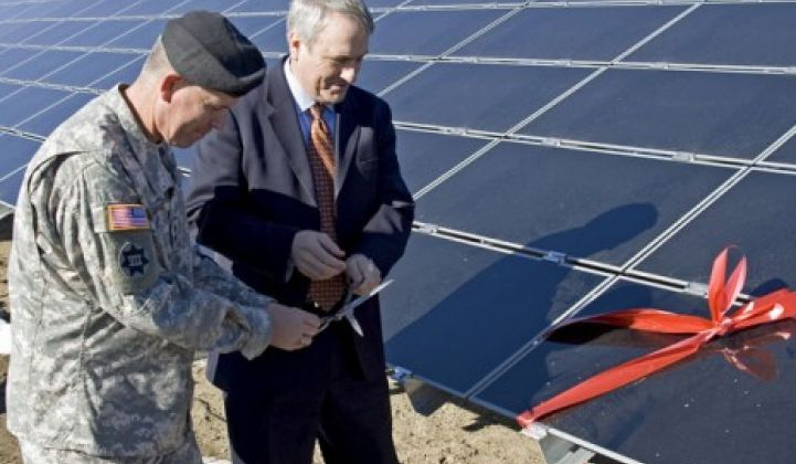 How the Army Became a Leader in Third-Party Clean Energy Financing