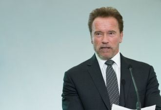Schwarzenegger: don't talk about climate change, talk about pollution.