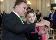 Schwarzenegger reflects on why he decided to financially support teen climate activist Greta Thunberg.