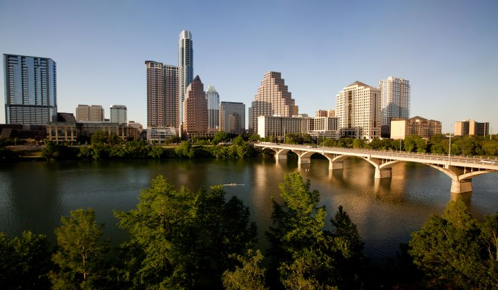 Austin Aims for 950MW of Solar Along With Bold Distributed Energy Goals