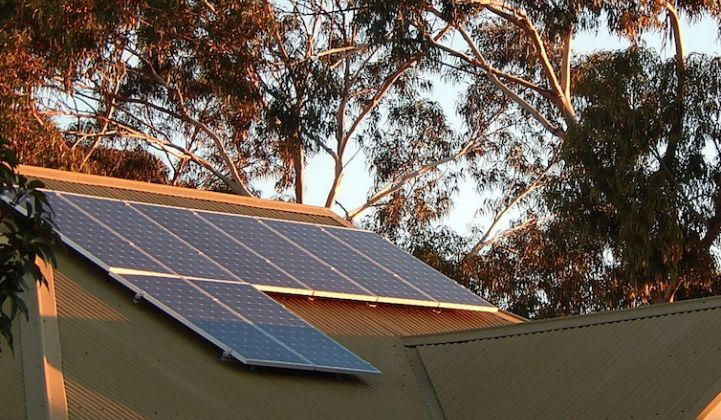 Australian Government Plans to Back Battery Storage in Homes With Solar