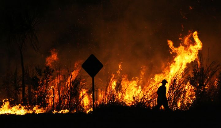 Will severe fires change the politics of climate in Australia?