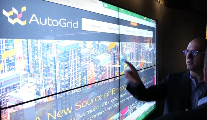 Monday's Series D round brings total funding for AutoGrid to more than $75 million.