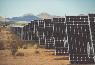 Double feature: Nearly two-thirds of proposed solar projects in California include batteries. (Avangrid)