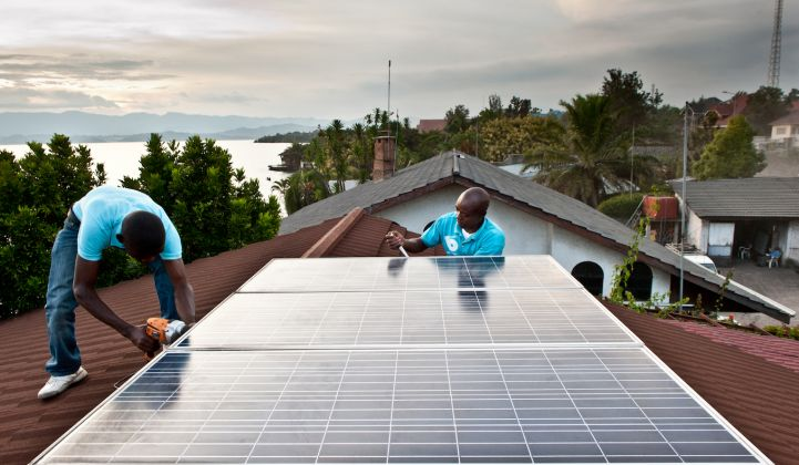 Africa is by far the largest destination for investment into off-grid energy access. (Credit: BBOXX)