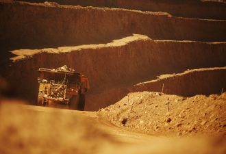 BHP plans to power its Spence mine in Chile entirely with renewables. (Credit: BHP)