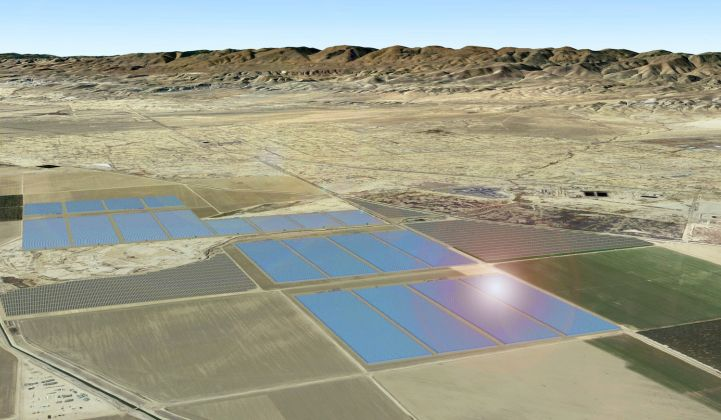 GlassPoint Solar will build California's largest solar farm at an oil field in Kern County.