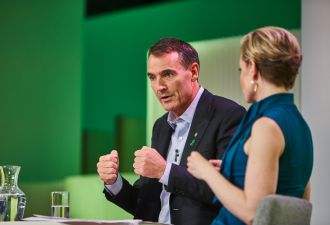 BP CEO Bernard Looney says moves are coming soon on the hydrogen front. (Credit: BP)