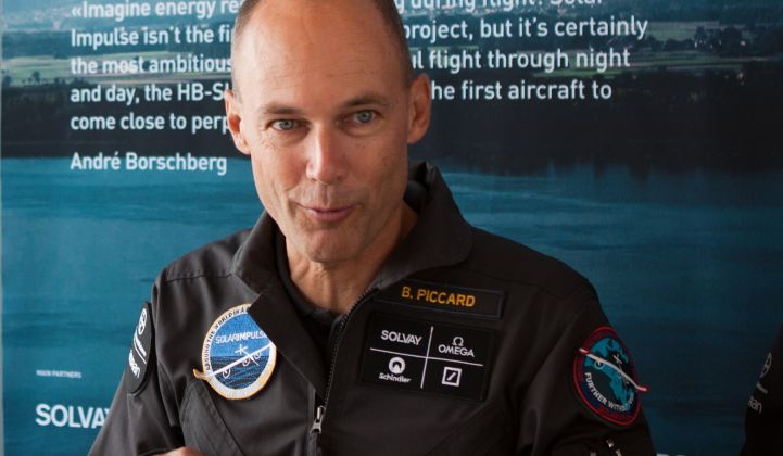 Bertrand Piccard describes his solar aviation journey.