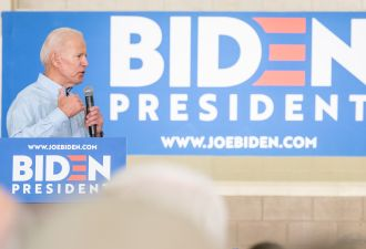 If elected president, Biden wants to achieve 100 percent carbon-free electricity by 2035.