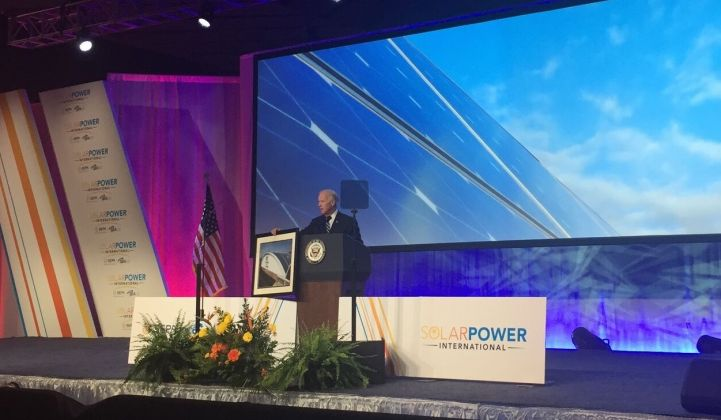 Biden Calls Out Special-Interest Groups for Stifling Solar Market Growth