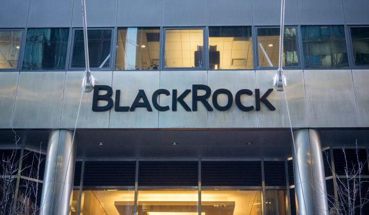 BlackRock Targets Storage With New Multibillion-Dollar Renewables Fund